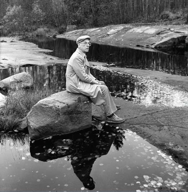 Pildil president Lennart Meri